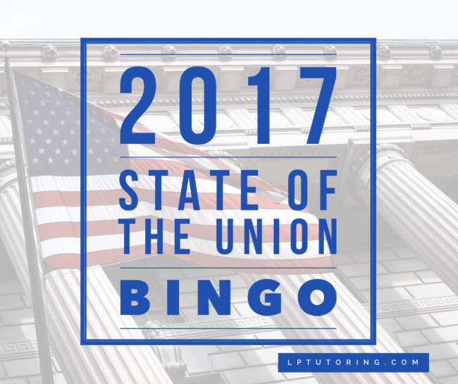 2017 State of the Union BINGO