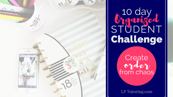 10 Day Organized Student Challenge!
