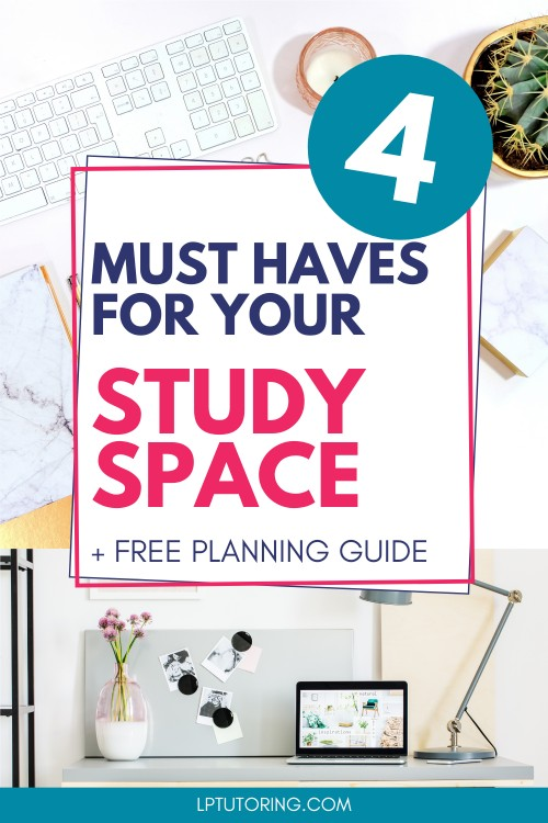 Create an Effective Study Space Quickly and Inexpensively