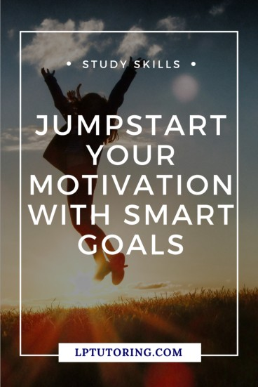 You want to be a better student, but just can't get motivated. Learn how to jumpstart your motivation with SMART goals! Grab the FREE planning worksheet! | #smartgoals #motivation #studyskills