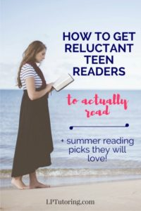 Reluctant Teen Readers   Summer Teen Reading