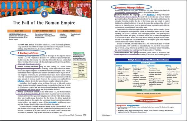 take notes textbook