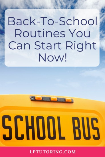 Back to School | Family Routines | Family Organization | #backtoschool