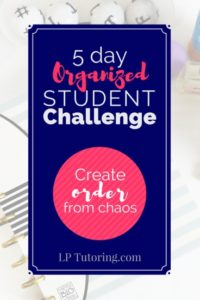 Organized Student Challenge | Organized Teen | Back to School