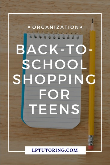It's back-to-school soon and new school supplies are hitting store shelves! Find out how to shop for your teen, while saving time and money. | #schoolsupplies #HighSchool #MiddleSchool #backtoschool