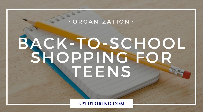 Back-to-School Shopping for Teens