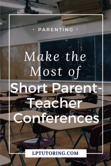 Parent-teacher conferences can be frustrating! Get my tips for more productive conferences. Click through to get a FREE planning guide with 20+ questions to ask teachers. | #parentteacherconference #parentingteens