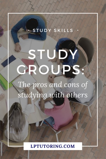 Is a study group right for you (or your teen)? Check out the pros and cons of study groups before making that commitment! Click through to read them all! | #studygroup #studygroups