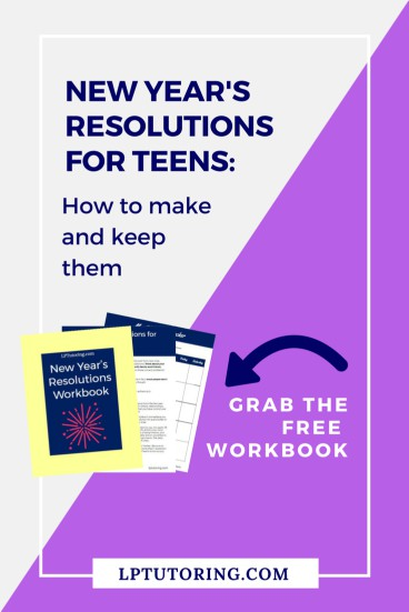 New Year's Resolutions | Resolutions for Teens | Goal Setting | #newyearsresolutions