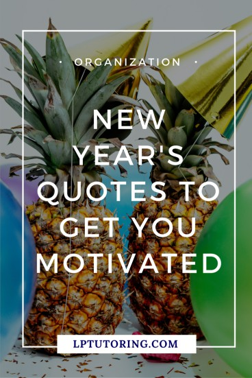 The New Year is an ideal time to start fresh, dropping bad habits and starting new ones. Here are some New Year's quotes to get you motivated! | #newyears #newyearsresolution #motivationalquotes