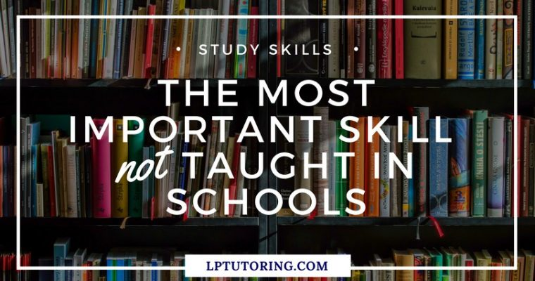 The Most Important Skill NOT Taught in School