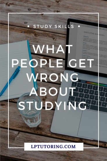 We all have this image of good studying in our heads. But that image is SO wrong! Let's bust the top myths about studying and learn better methods instead! | #studyskills #studying