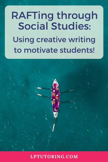 RAFT Writing Assignment | Creative Writing | Social Studies| #raft #highschool #middleschool #socialstudies #socialstudieswriting