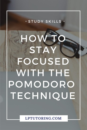 You mean well, but just can't manage to stay focused while studying.☹️ Use the Pomodoro Technique to stay focused and get work done! Click through to find out how the Pomodoro Technique can work for you! | #timemanagement #pomodorotechnique