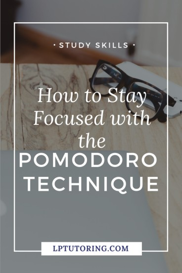 You mean well, but just can\'t manage to stay focused while studying.☹️ Use the Pomodoro Technique to stay focused and get work done! Click through to find out how the Pomodoro Technique can work for you! | #timemanagement #pomodorotechnique