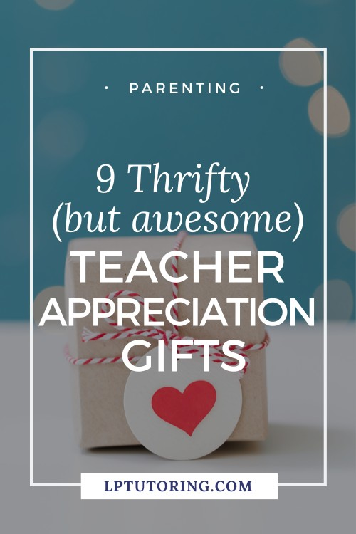 thrifty teacher gifts