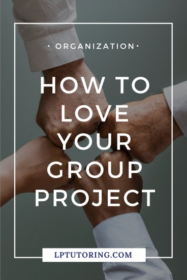 Many students (of all ages!) love to hate group projects. Don\'t get stuck with a group that doesn\'t work or members who disappear and leave you all the work. Click through to get my tips and tricks for making your group project go more smoothly! | #groupprojects