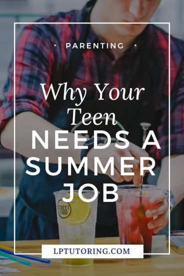 Considering a summer job for your teen? Find out what skills he will learn and how those real-world skills can make him a stronger student! Click through to see them for yourself! | #summerjob #teenjobs