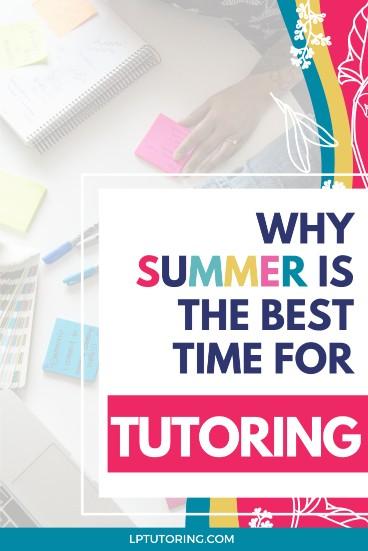 Summer Tutoring | #tutoring