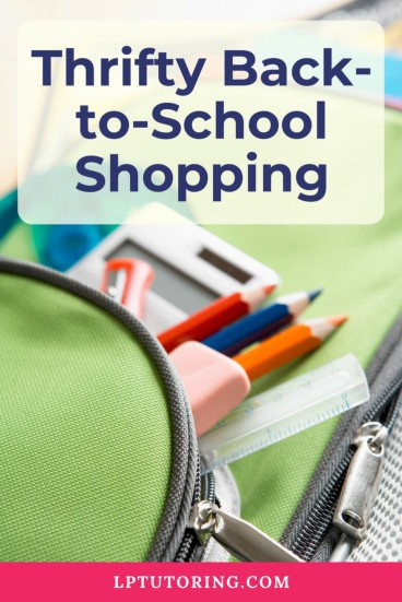 Back-to-School Shopping | Thrifty Back-to-School Shopping | School Supplies | #backtoschool | #thriftyshopping