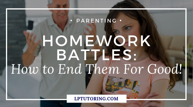 Homework Battles: How to end them for good!