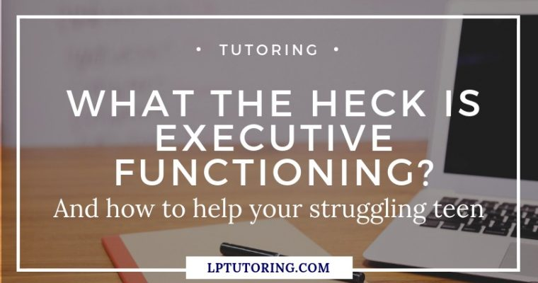 What the Heck is Executive Functioning?