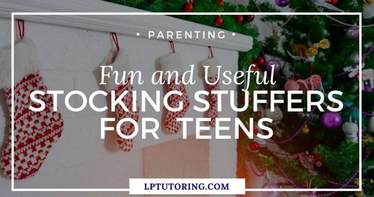 Fun and Useful Stocking Stuffers for Teens