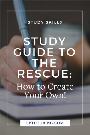 It's time to study for that test, but there is no study guide! What do you do? You can create your own! Grab these tips to make your personal study guide!   #studyskills #studyguide