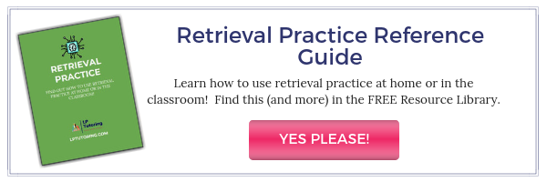 retrieval practice button