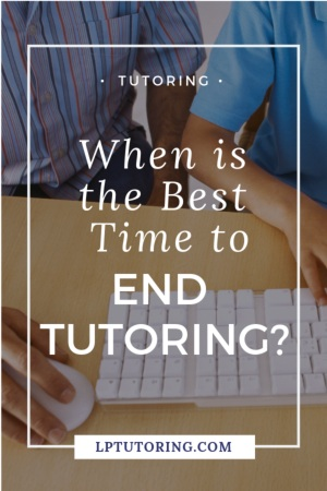 It can be difficult to decide when to end tutoring. Look for some common signs and learn how to end tutoring in a smart way! | #tutoring