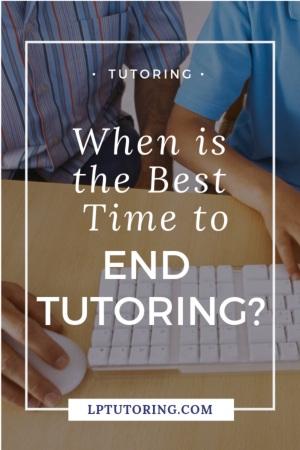 end tutoring