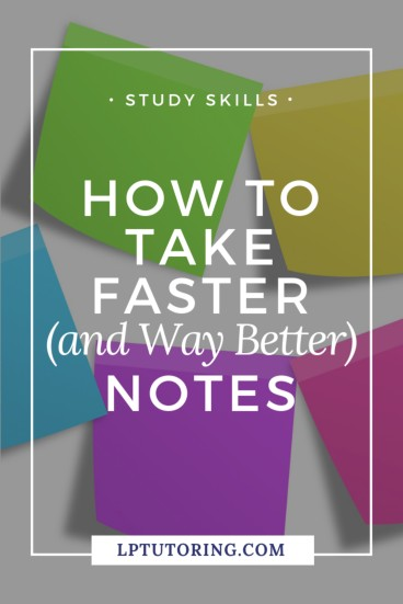 faster notes