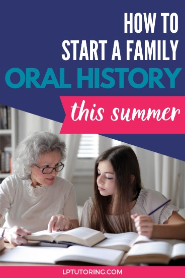 How to Conduct a Family Oral History
