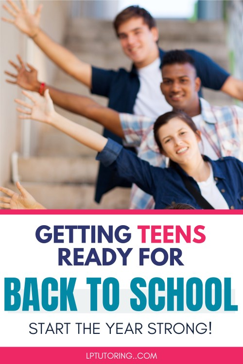 Prepare for Back-to-School: Make It a Great Year
