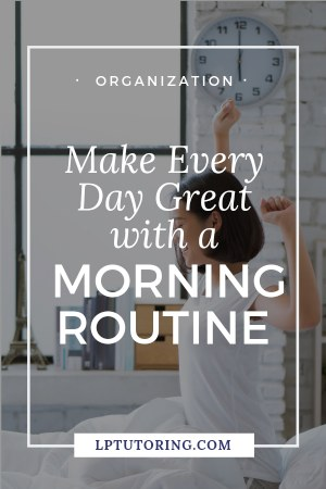 If you just want your mornings to go more smoothly, it\'s time for a morning routine. Click through to find out how to create a morning routine and make your days even better! | #morningroutine #productivity