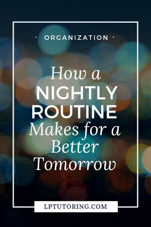 Nightly Routine