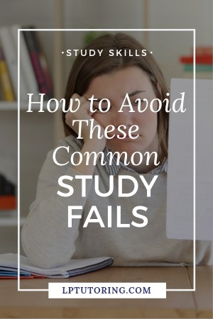 You want to do well, but a few study fails are killing your grade! Click through to find out about the most common study fails and what to do instead! #studyskills #studyfails