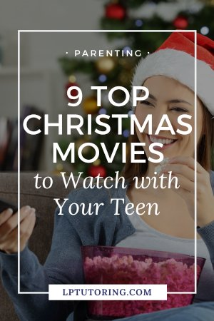 The holidays are the perfect time for a Christmas movie marathon with your teen! Click through to see all these fun Christmas movies that your teen (and you) will love! #christmasmovies #parentingteens