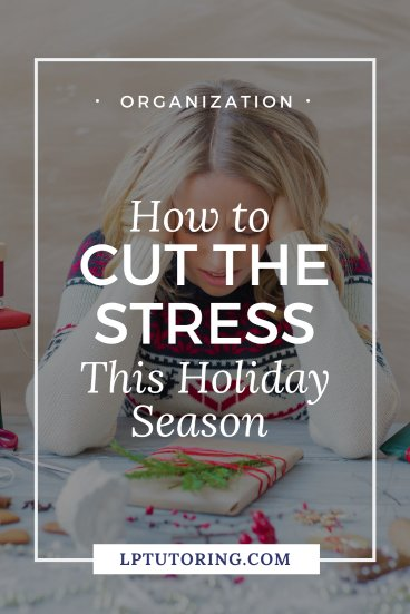 The holidays are fun, but can be draining. Find out ways to cut holiday stress, so you can enjoy the season even more this year! Click through to see all my tips for a more realaxing holiday. #holidaystress #selfcare