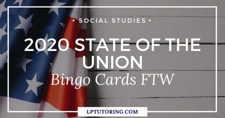 2020 State of the Union Bingo Cards FTW