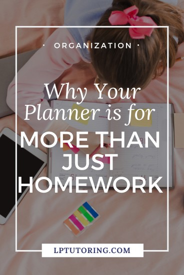 The True Purpose of an Academic Planner