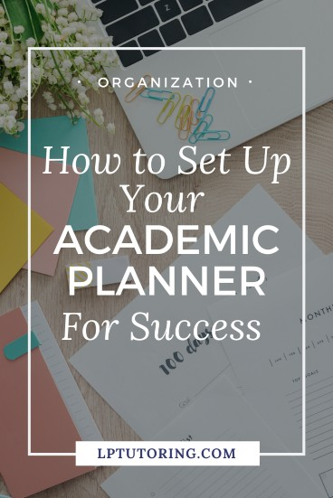 How to Set Up Your Academic Planner For Success
