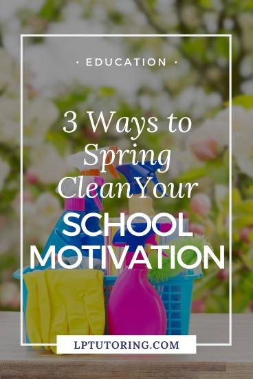 Spring Clean motivation