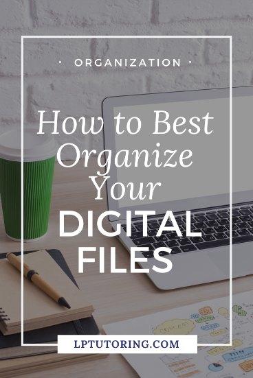 organize digital files