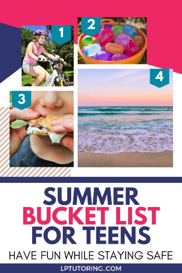 Summer 2020 Bucket List for Teens: Have Fun Safely