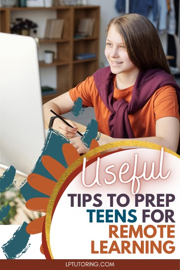 How to Get Teens Ready for Remote Learning