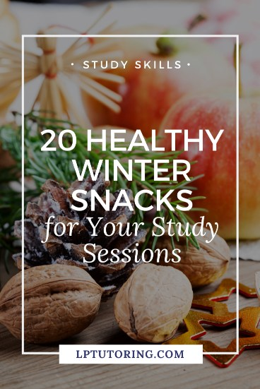 winter study snacks