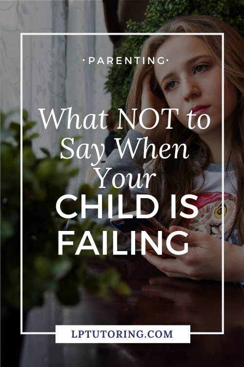 child failing