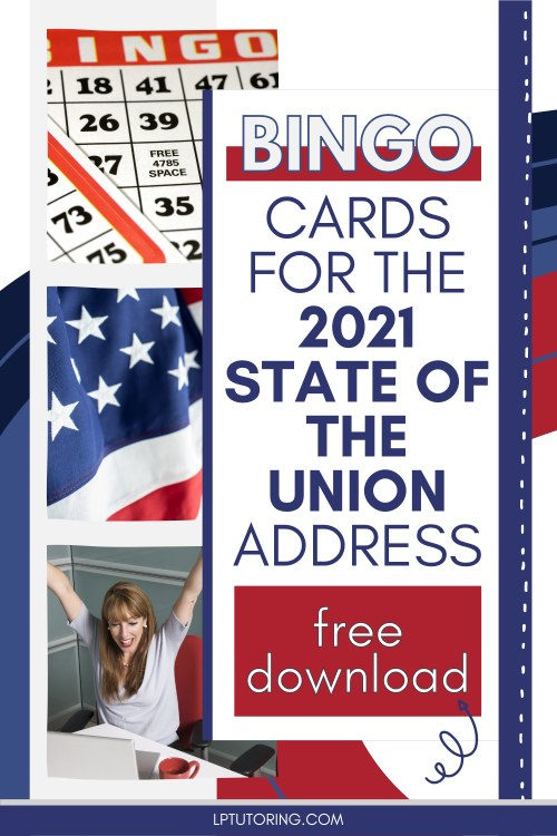 Bingo Fun with the 2021 State of the Union