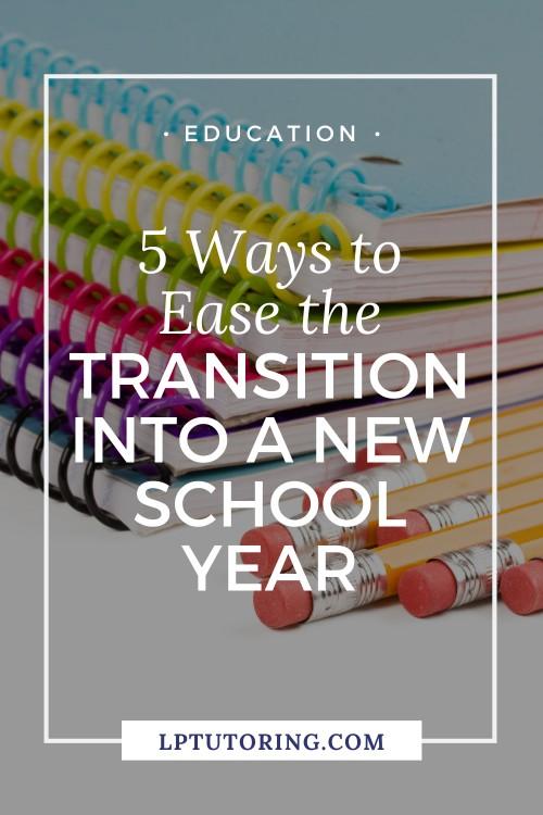 transition school year